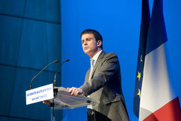 La France a la chance de disposer d'une industrie de la sécurité à la pointe de l'innovation, selon Manuel Valls