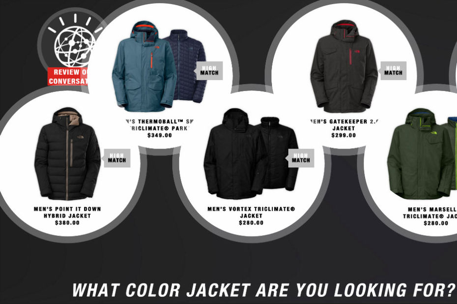 Quand The North Face dope son site d'e-commerce à l'intelligence artificielle