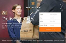 Amazon teste à Seattle un service de livraison crowdsourcée