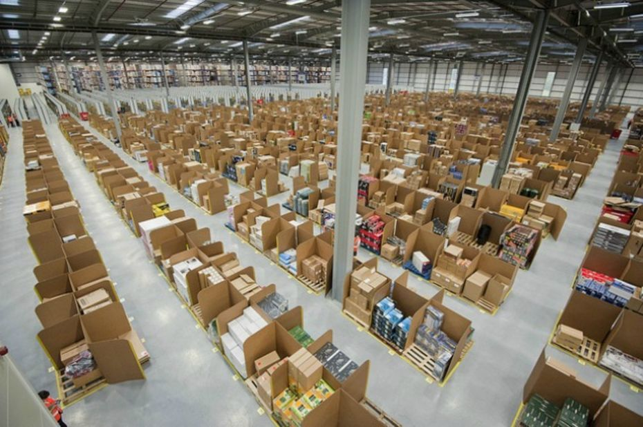En 2014, Amazon a créé 6 000 emplois permanents en Europe