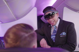 Air New Zealand teste l'utilisation de HoloLens par ses personnels navigants
