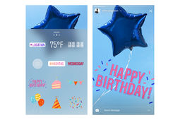 Instagram Stories fête ses 1 an... en surpassant Snapchat