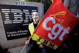 IBM confirme la suppression de 1200 postes en France