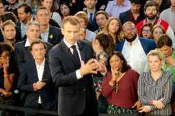A Station F, Emmanuel Macron édicte ses 4 grandes convictions pour faire de la France une start-up nation