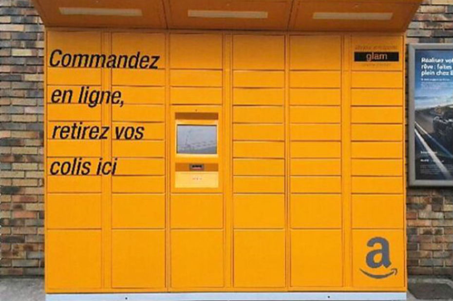 E-commerce : les casiers Amazon Locker débarquent en force en France