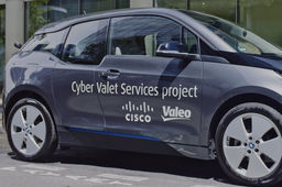 Cyber Valet parking, le système de parking intelligent de Cisco, Bouygues et Valeo