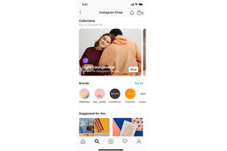 Instagram lance un onglet shopping intégrant Facebook Pay