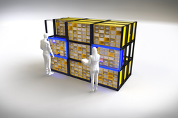 [Paris Retail Award] Galam Robotics, la start-up qui a inventé le Rubik's Cube du stockage