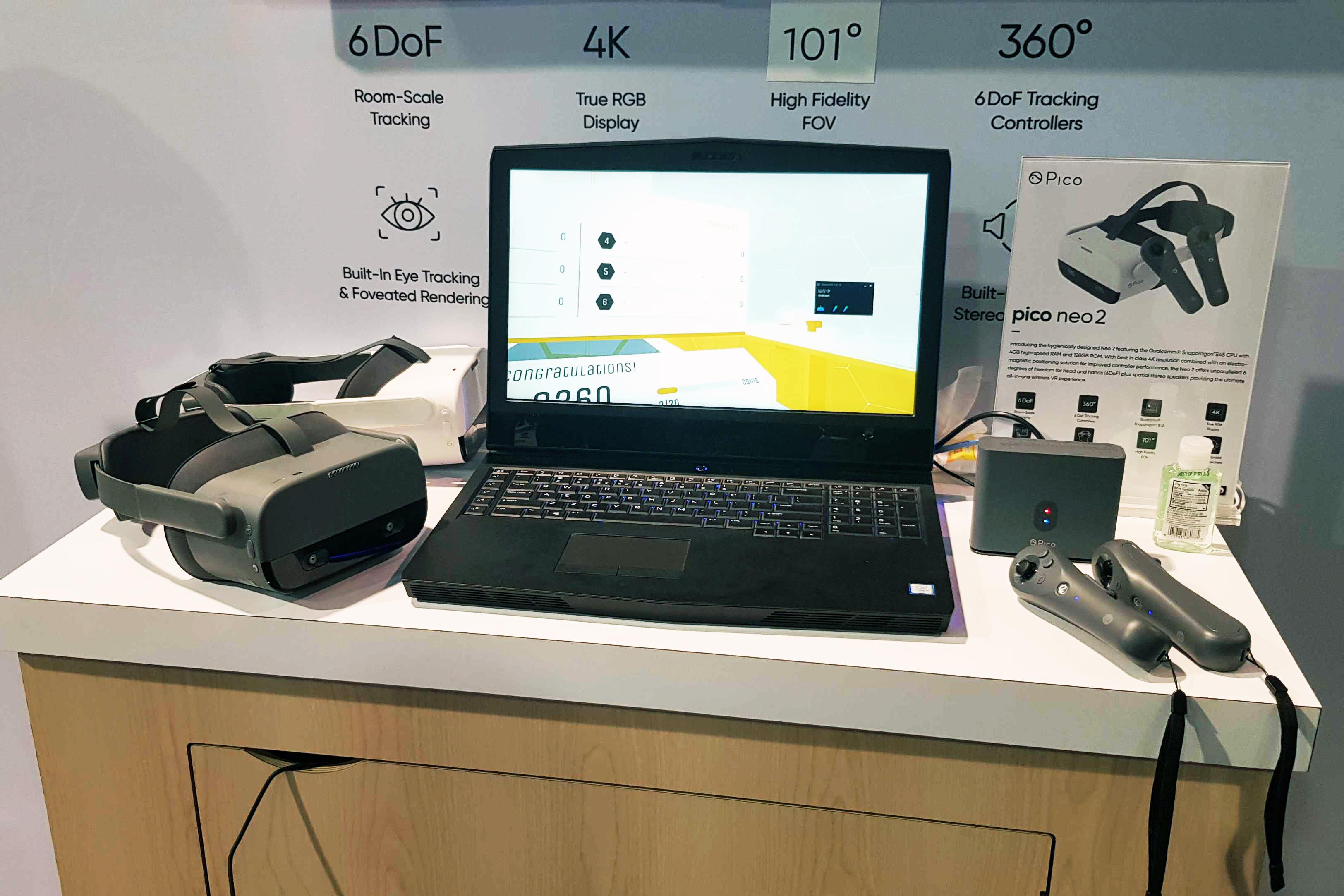 """[CES 2020] Pico présente le Neo 2, son concurrent de l'Oculus Quest, et un prototype de """"VR Glasses"""""""