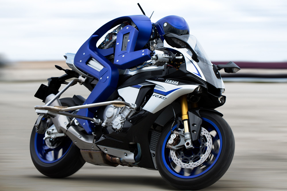 5cacc0cd1ec Vidéo : Motobot, la moto autonome de Yamaha qui veut gagner des grands prix