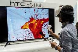 Formation professionnelle, cloud gaming 5G... Les cas d'usage du HTC Vive Focus Plus au MWC 2019