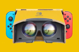 Le kit VR de Nintendo Labo sera compatible avec Super Mario Odyssey et Zelda: Breath of the Wild
