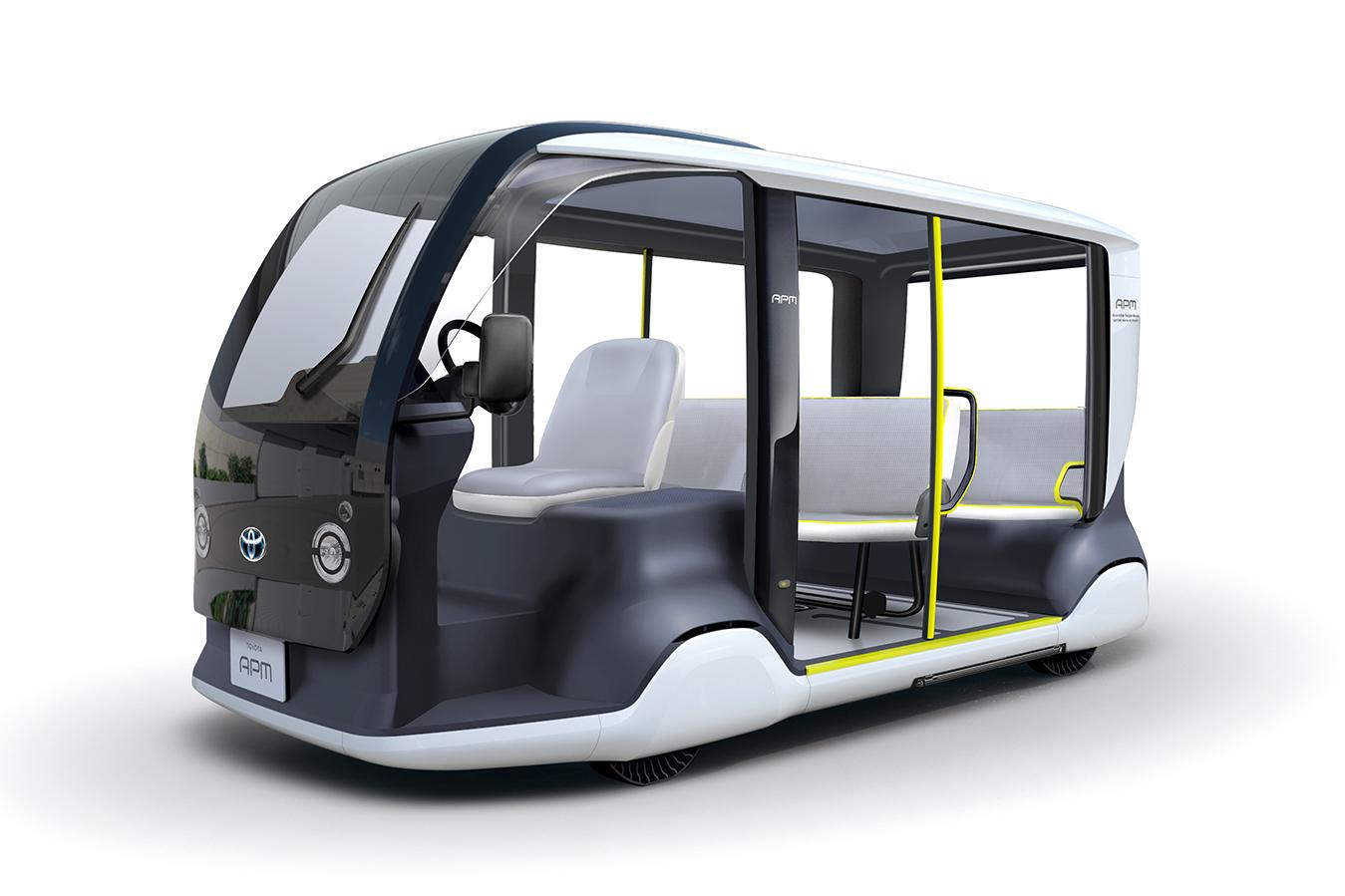 Toyota dévoile sa navette autonome et électrique pour les JO de Tokyo 2020