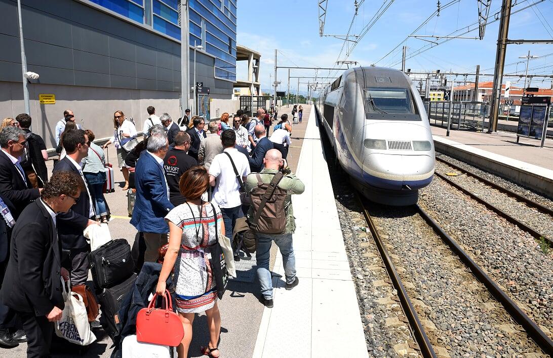 """Le """"Train French Tech"""" embarque les start-up d'Occitanie de Perpignan à Madrid"""