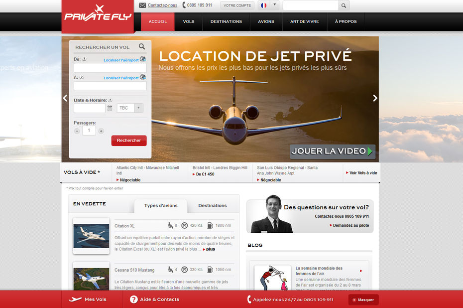 PrivateFly, le Uber de l'avion ?