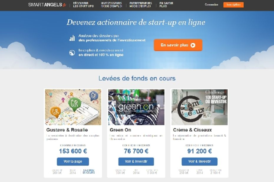 La plate-forme de crowdfunding Smart Angels s'associe avec Allianz