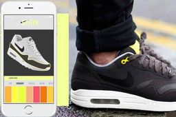 Shift Sneaker, la basket qui change de couleur via une appli mobile