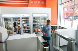 La start-up californienne Zippin ouvre son premier magasin sans caisse à Moscou