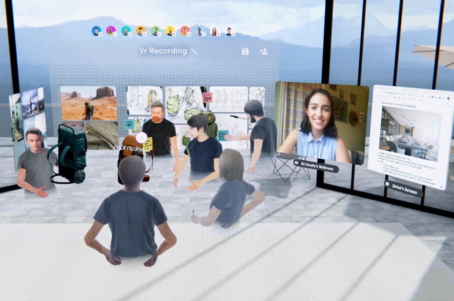 Facebook ouvre la voie aux applications de travail collaboratif à distance sur l'Oculus Quest