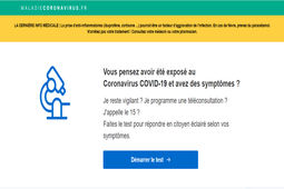 Covid-19 : un consortium d'acteurs de la French Tech lance un site d'autodiagnostic
