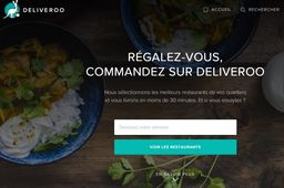 Deliveroo lève 100 millions de dollars pour combler son appétit d'international