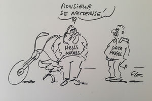 CDO Day : quand le dessinateur Flec croque la transformation digitale... :)