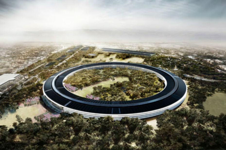 La ville de cupertino autorise apple construire son for Novembre arredamenti copertino