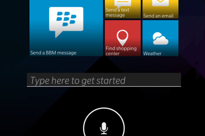 L' Assistant vocal de BlackBerry veut défier Siri, Cortana et Google Now