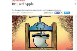 Apple et l'Europe, une décision contre-productive, selon The Economist