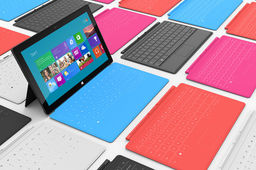 Microsoft table sur 3 millions de tablettes Surface avant la fin 2012