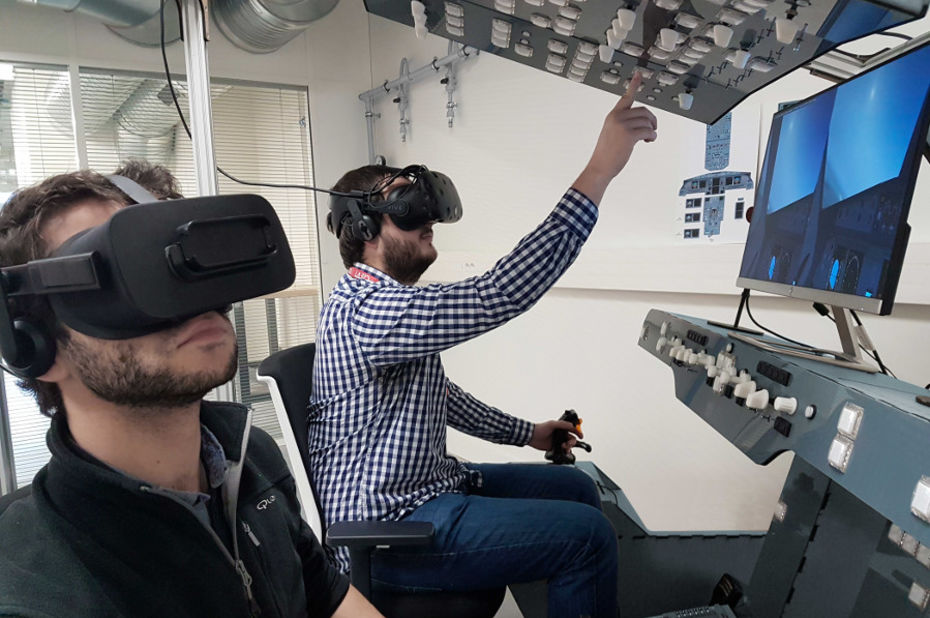 L'Ecole nationale de l'aviation civile choisit le simulateur de VR Aero Training