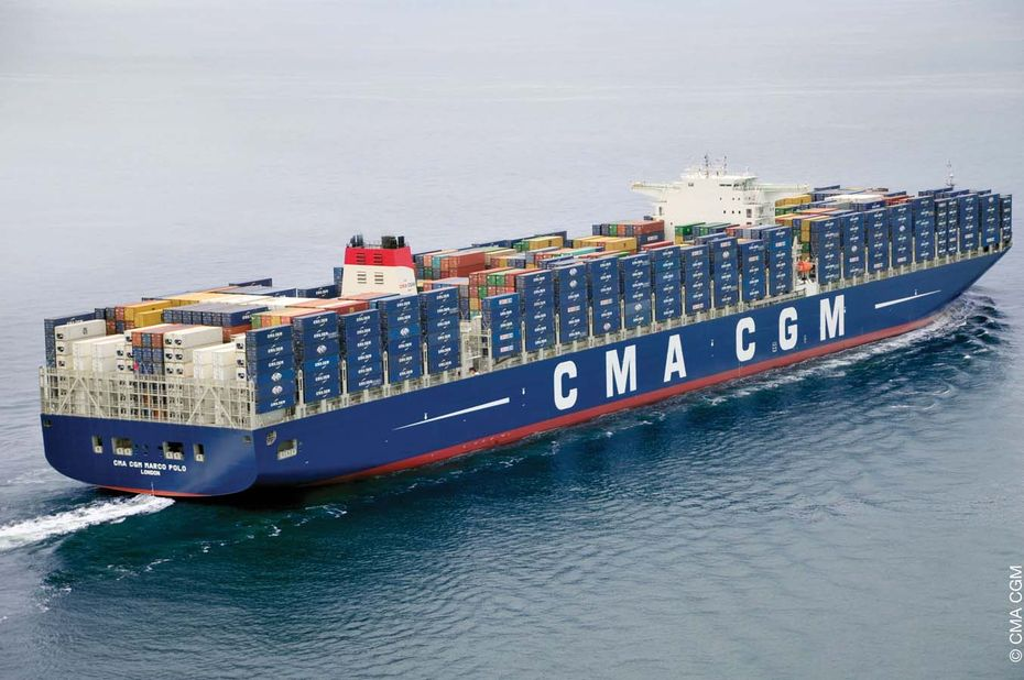 Supply chain digitale de l'année : CMA-CGM piste les conteneurs