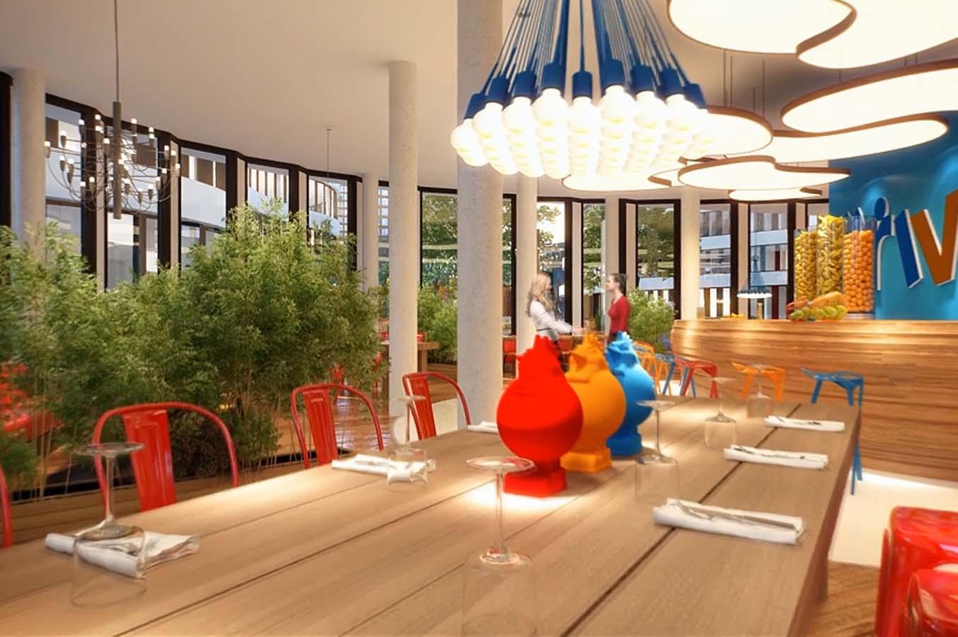 Centr sur le bien tre en images les bureaux de trivago d sseldorf vont vous donner envie - Trivago office dusseldorf ...