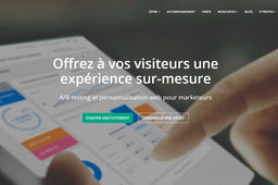 Les 100 du digital retail : Kameleoon, pour choisir la version la plus efficace d'un site de e-commerce