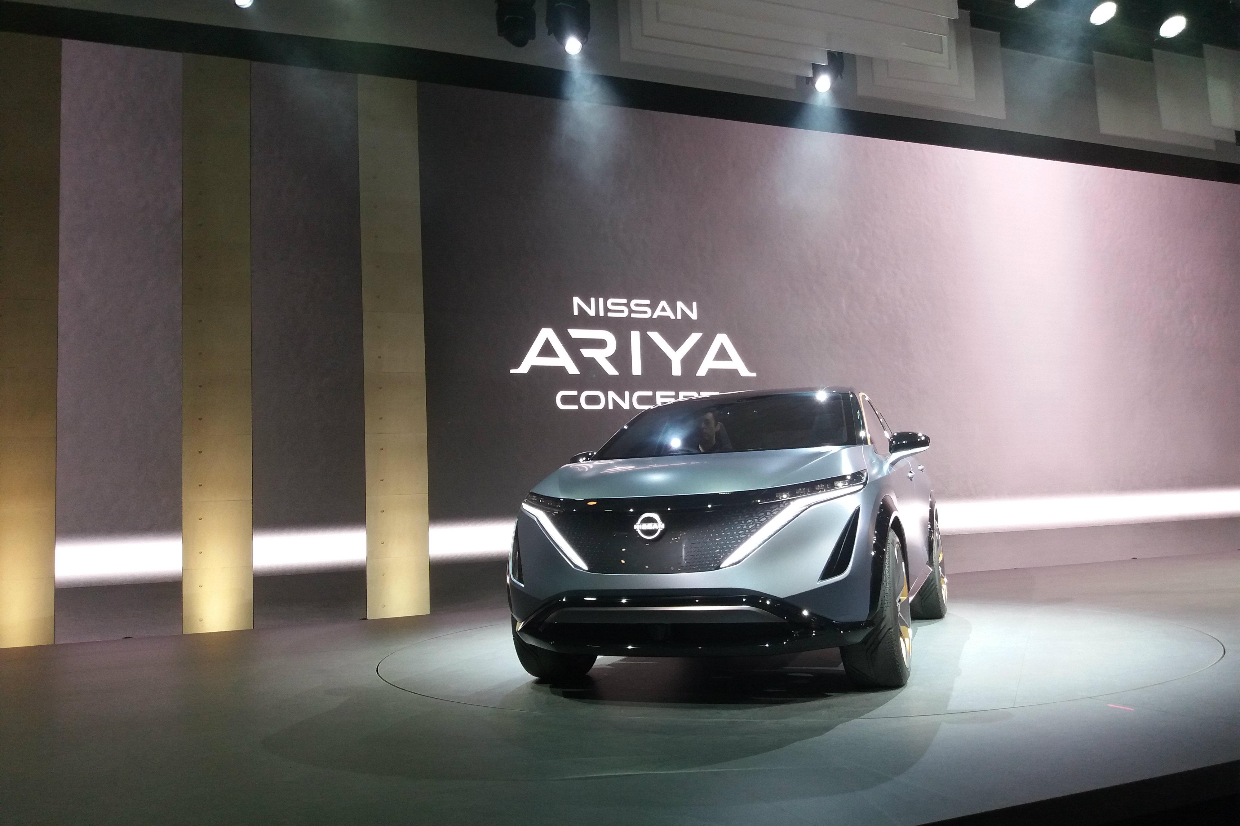 [Tokyo 2019] Assistant personnel, tableau de bord haptique, aide à la conduite... Nissan dévoile l'Ariya Concept