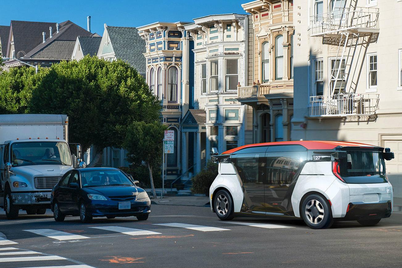 Cruise présente Origin, son véhicule autonome pour la mobilité partagée