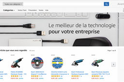 Amazon part à l'assaut du e-commerce B2B français avec Amazon Business