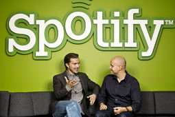La valorisation de Spotify franchit la barre des 4 milliards de dollars