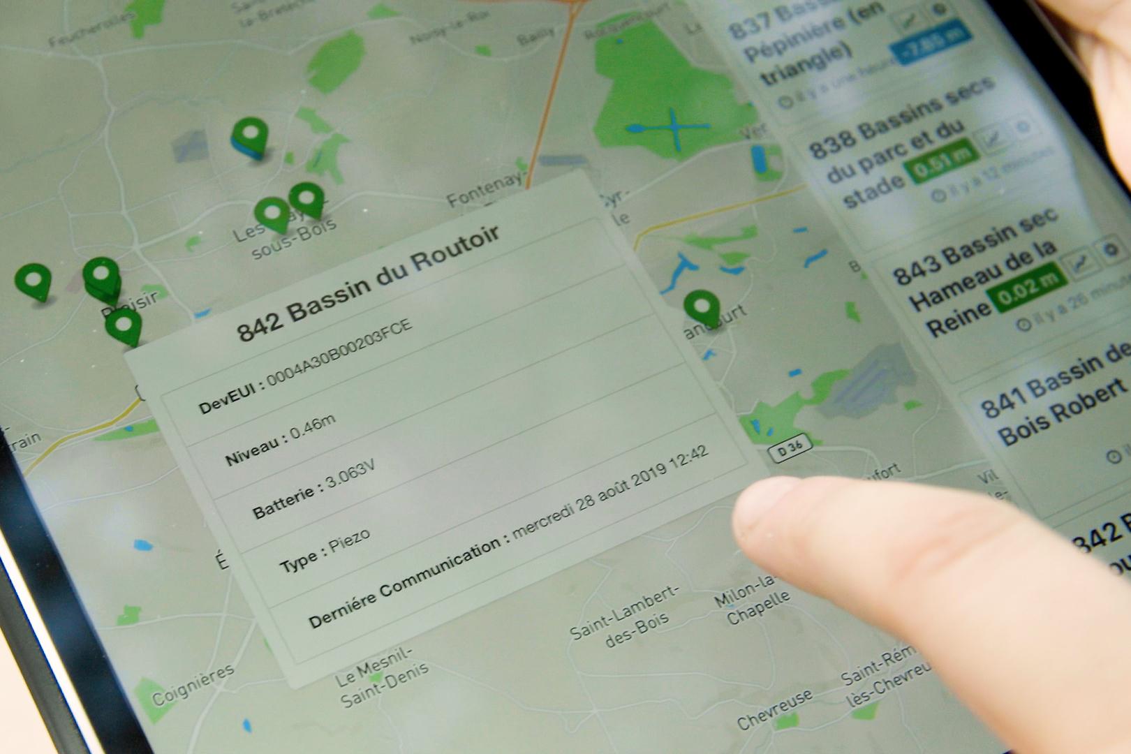 Saint-Quentin-en-Yvelines surveille ses bassins de rétention d'eau grâce à la plate-forme IoT d'Orange