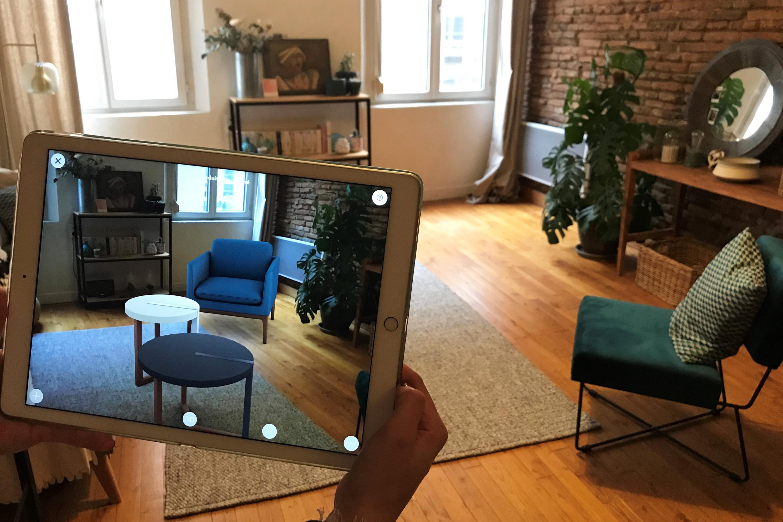 Innersense et Spi Software fusionnent pour accélérer leur croissance dans la réalité augmentée pour l'ameublement