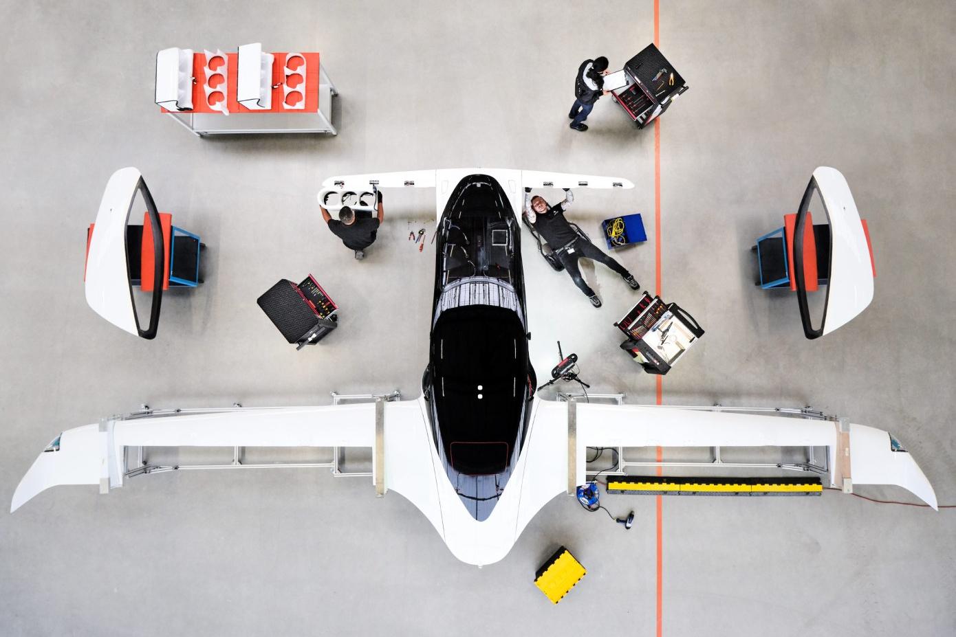 La start-up allemande Lilium veut commercialiser son taxi-volant d'ici 2025