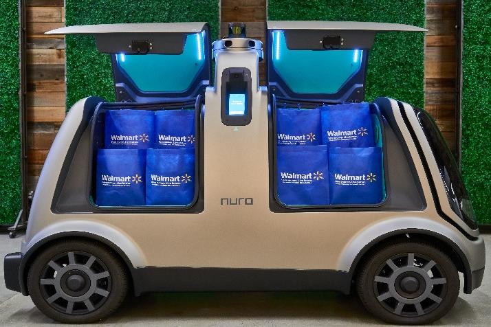 Walmart et Nuro vont tester des navettes de livraison autonomes à Houston dès 2020