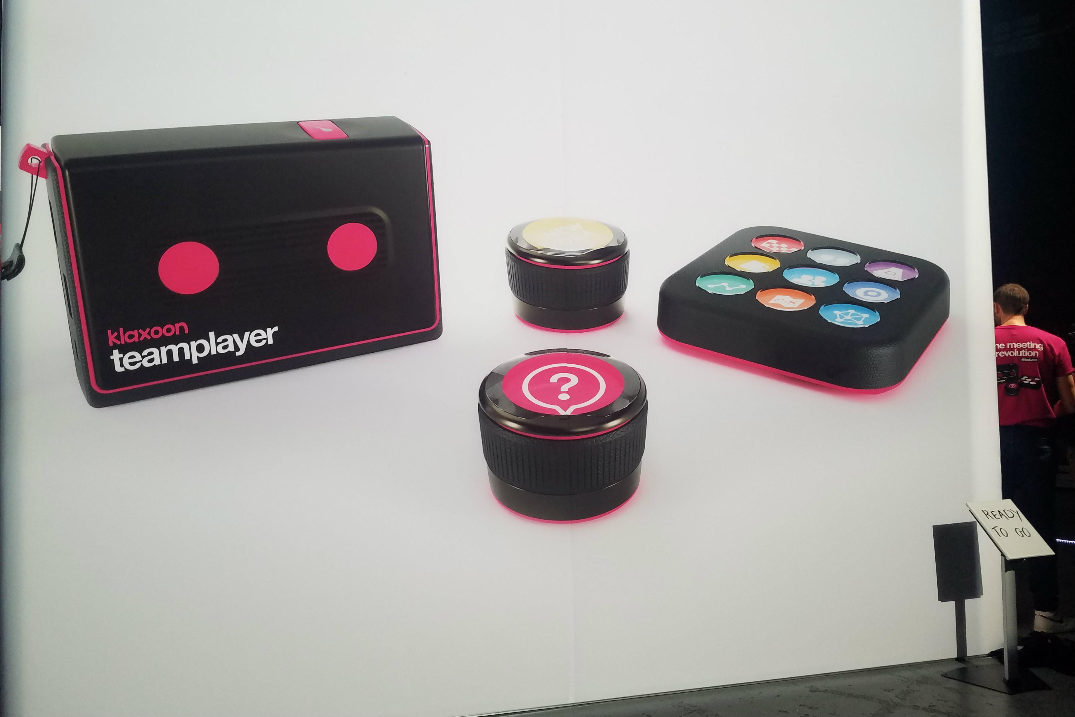 [CES 2020] Klaxoon élargit son offre avec Teamplayer, un outil qui rend les écrans intelligents